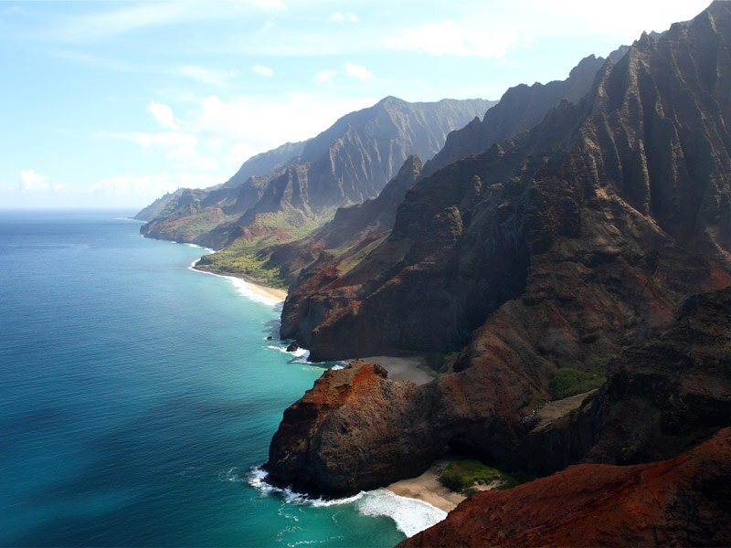 The Napali Coast of Kauai, Hawaii