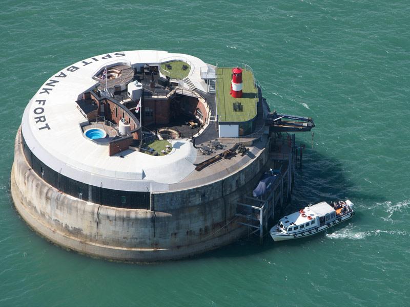 Spitbank Sea Fort Hotel, England