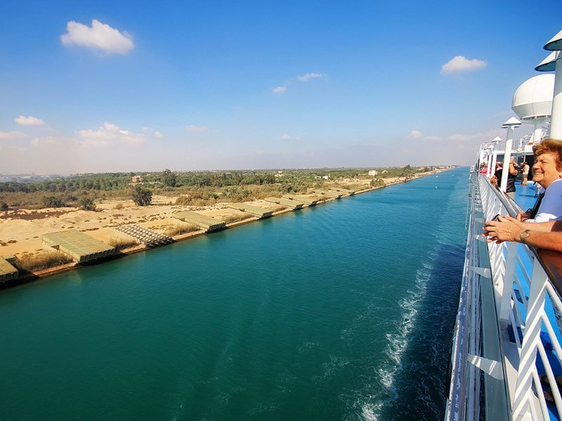 The Suez Canal and the Middle East