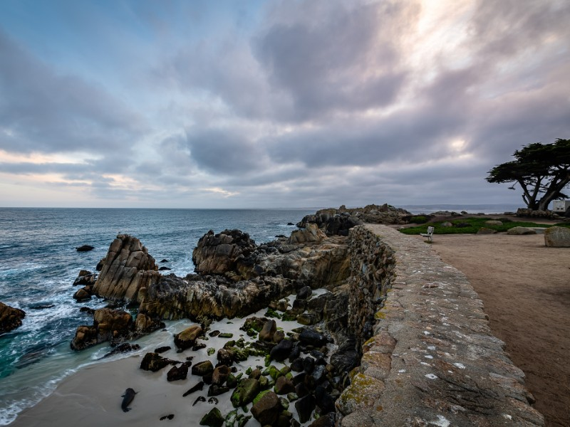 Lovers Point Park in Monterey, California