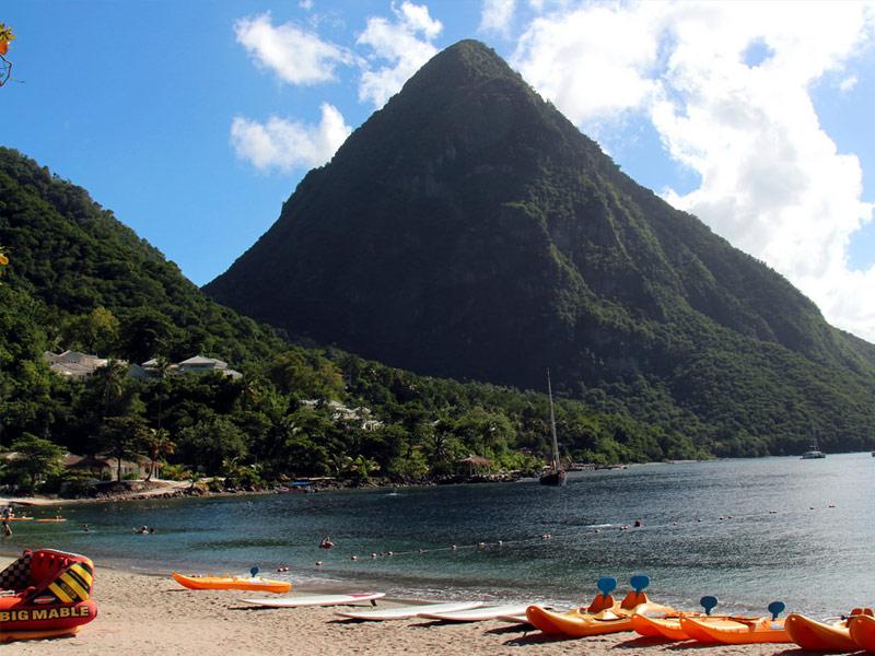Sugar Beach: Saint Lucia