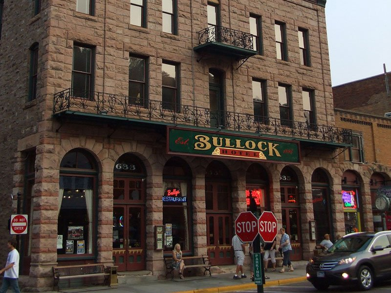 Historic Bullock Hotel, Deadwood, South Dakota
