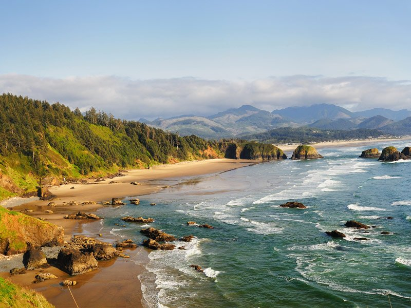 Ecola State Park and Cannon Beach