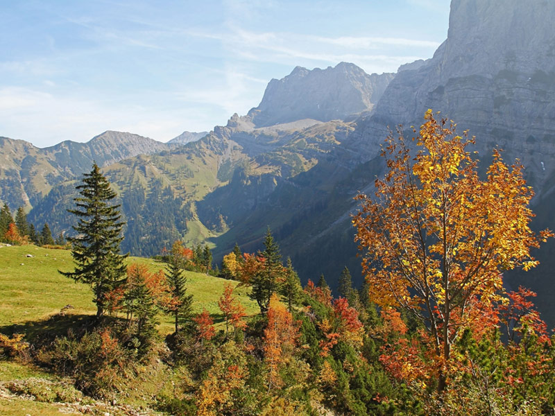 Ahornboden, Austria