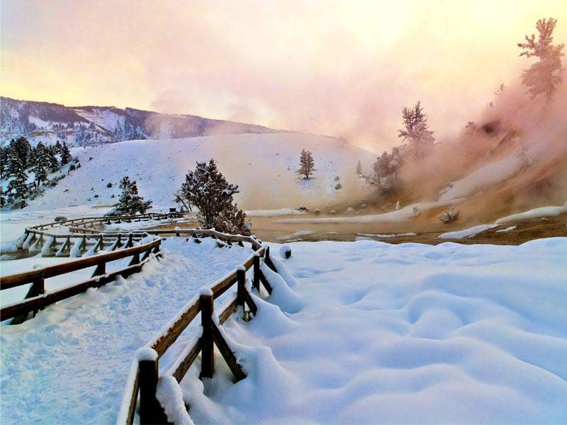 17 most romantic winter getaways in the u s trips to for Best us winter getaways