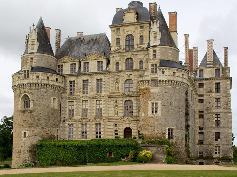 Chateau de Brissac: Angers, France