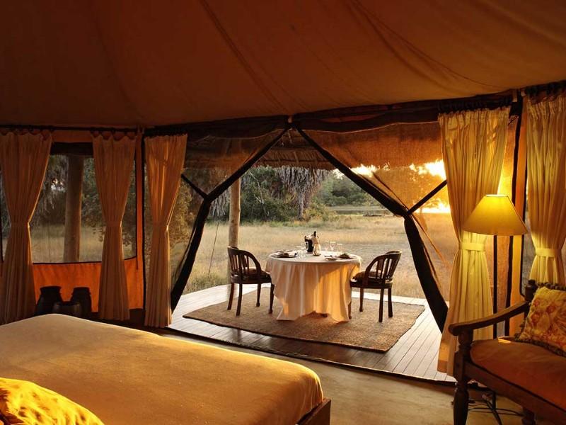 Siwandu Camp, Selous Game Reserve, Tanzania