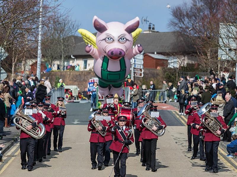 Sligo St Patricks Day Parade