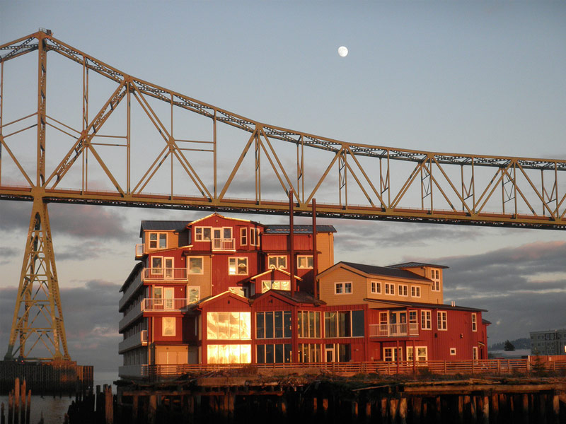 The Cannery Pier Hotel, Astoria