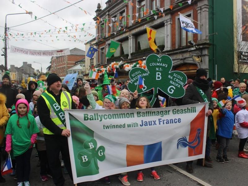 Tullamore St Patrick's Day Parade