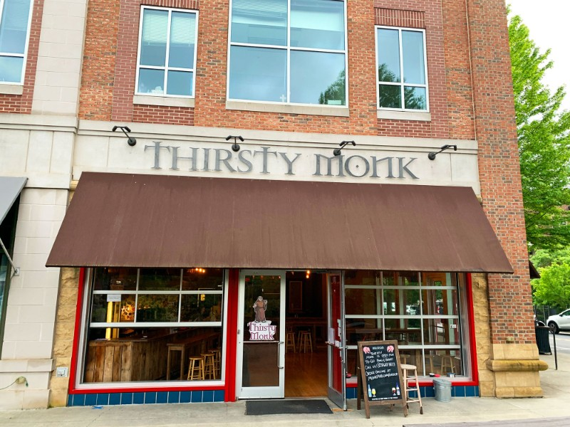 The Thirsty Monk
