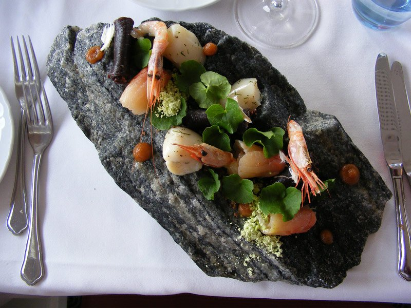 Sample Local Greenland Cuisine