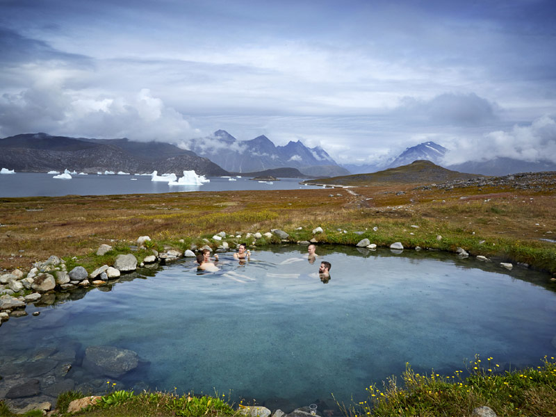 Soak in the Hot Springs of Uunartoq