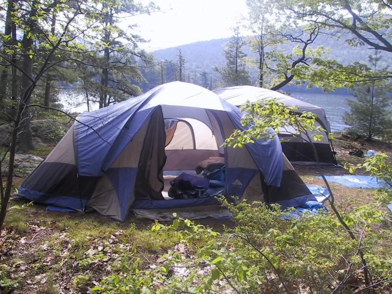 Camping at Lake George