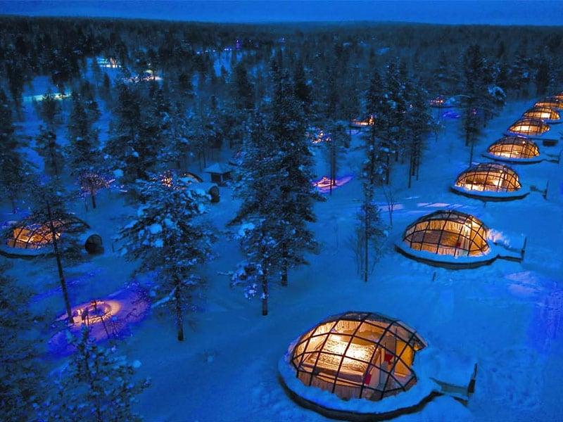 Kakslauttanen Arctic Resort, Saariselkä