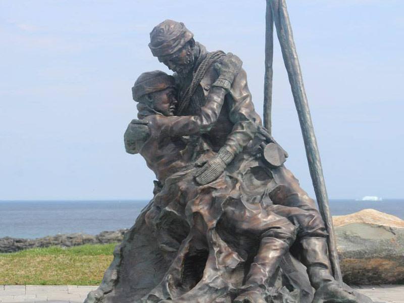 Sealers Memorial Statue, Elliston