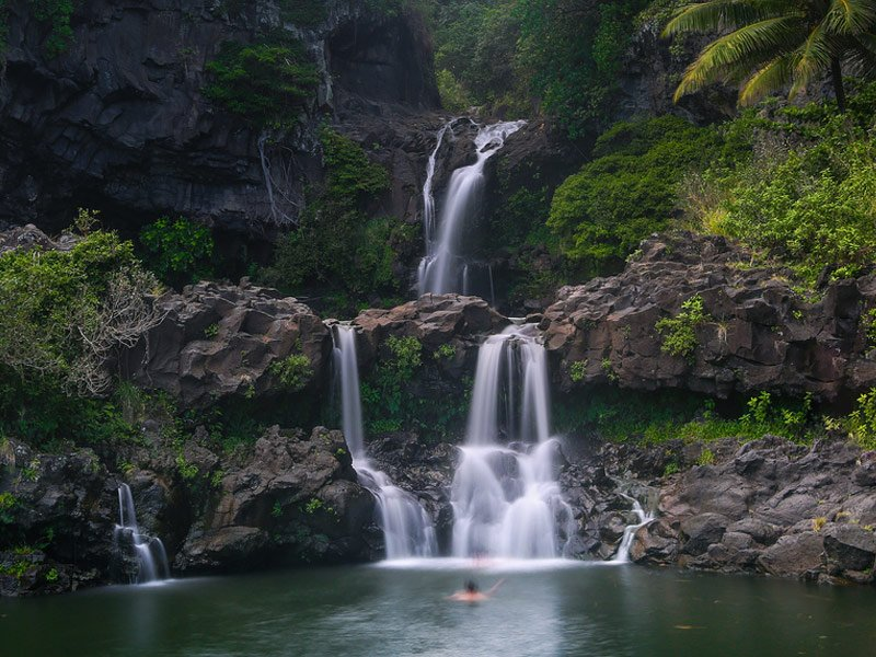 20 Hidden Swimming Holes Waterfalls Around The World Trips To Discover
