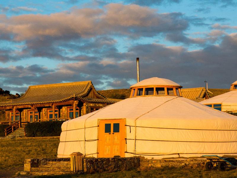 Three Camel Lodge, Gobi, Mongolia