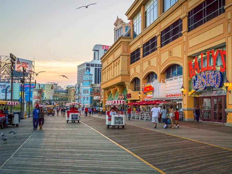 Atlantic City Boardwalk, Atlantic City, New Jersey