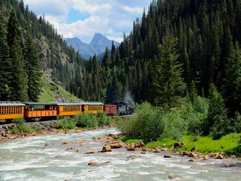 Durango & Silverton Narrow Gauge Railroad, Durango, Colorado