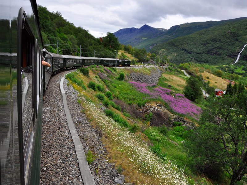 The Flam Line, Myrdal to Flam, Norway
