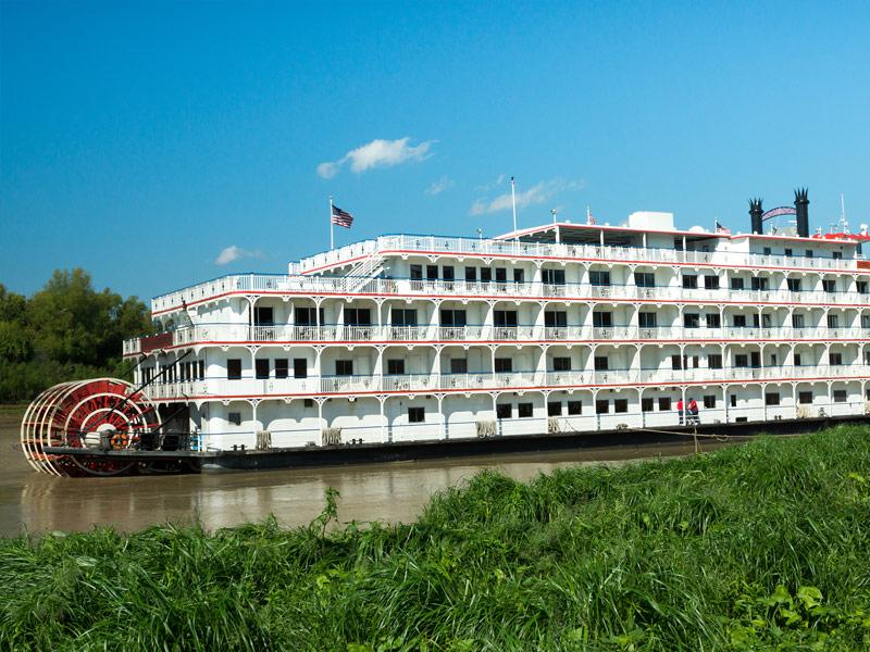 River Boat In Vicksburg