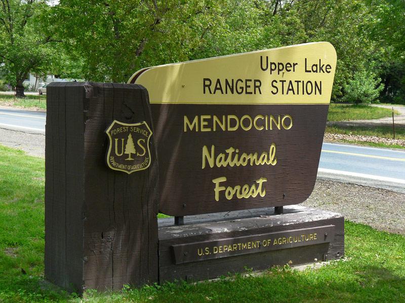 Mendocino National Forest, California