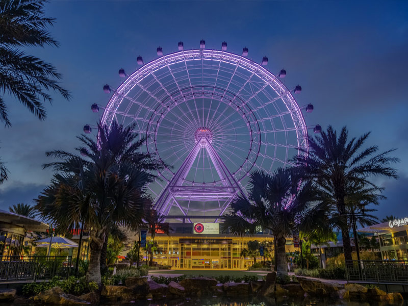 The Wheel at ICON Park in Orlando