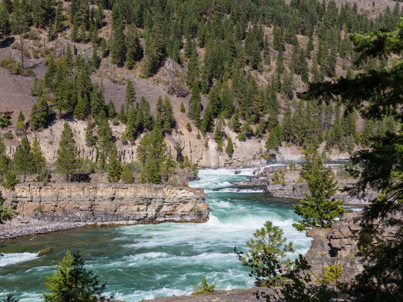 Kootenai Falls near Libby, Montana