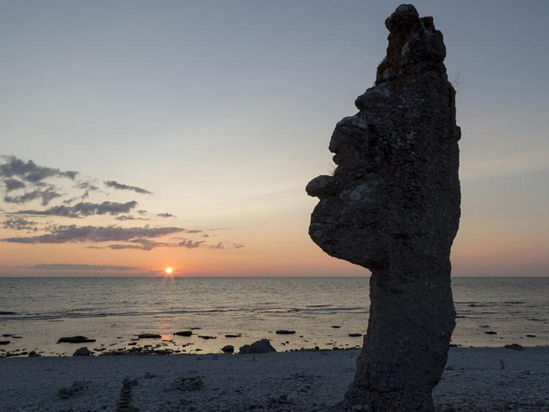 Sea Stack at Langhammar, Gotland