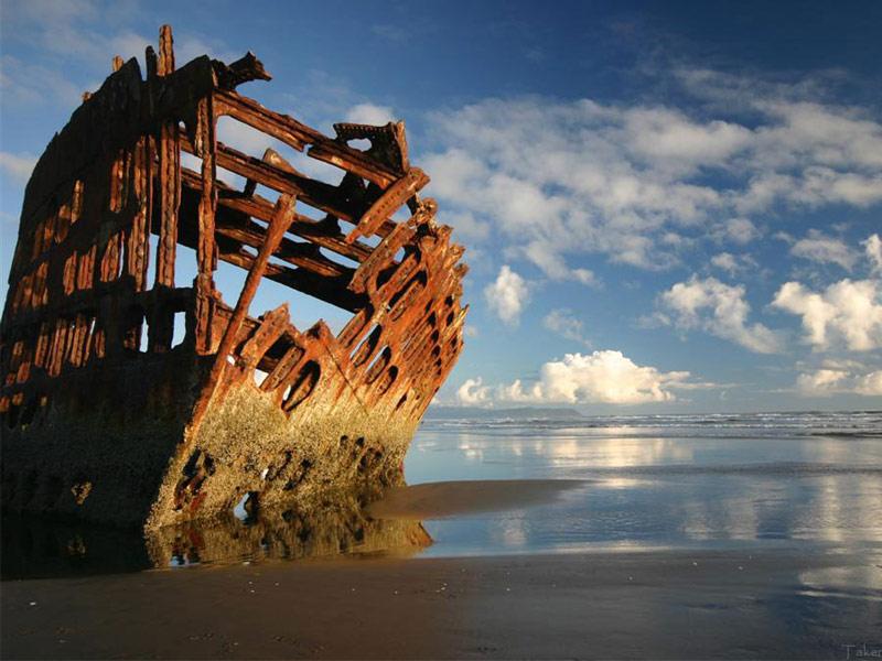 Peter Iredale Shipwreck, Warrenton
