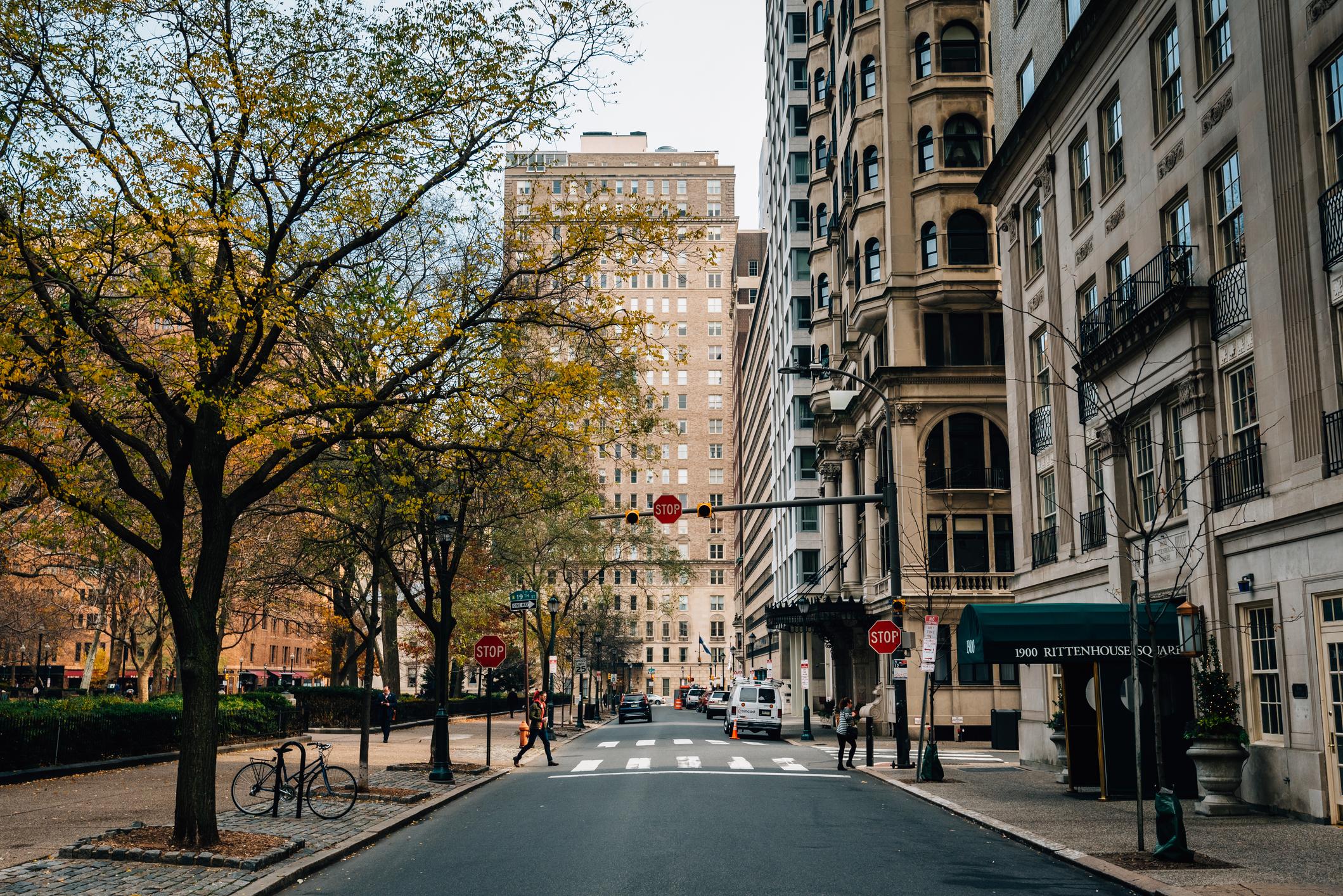 Rittenhouse Square, in Philadelphia