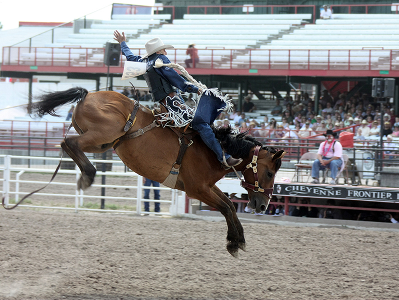 Billy Etbauer at Cheyenne Frontier Days