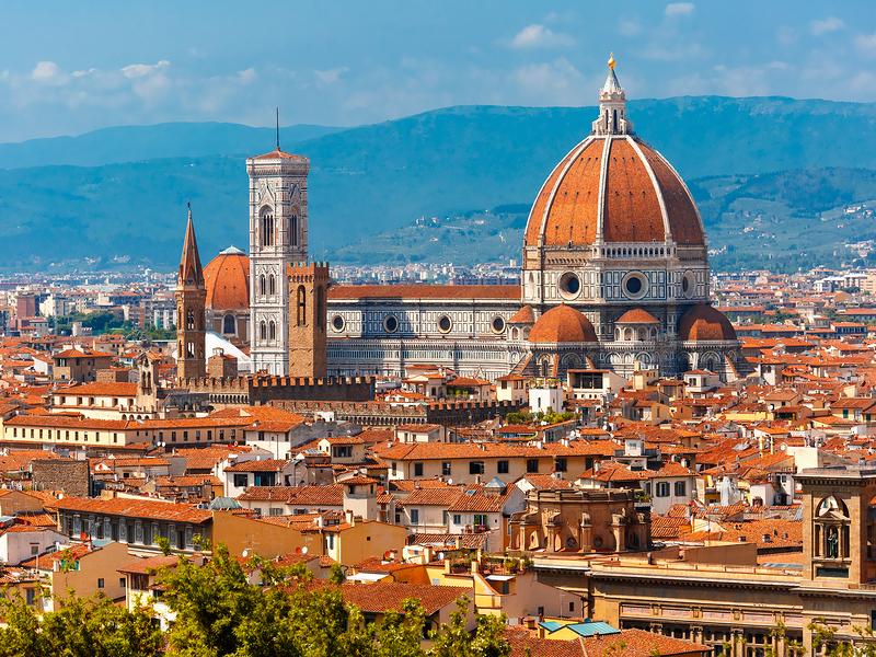 Duomo Santa Maria Del Fiore and Bargello, Florence