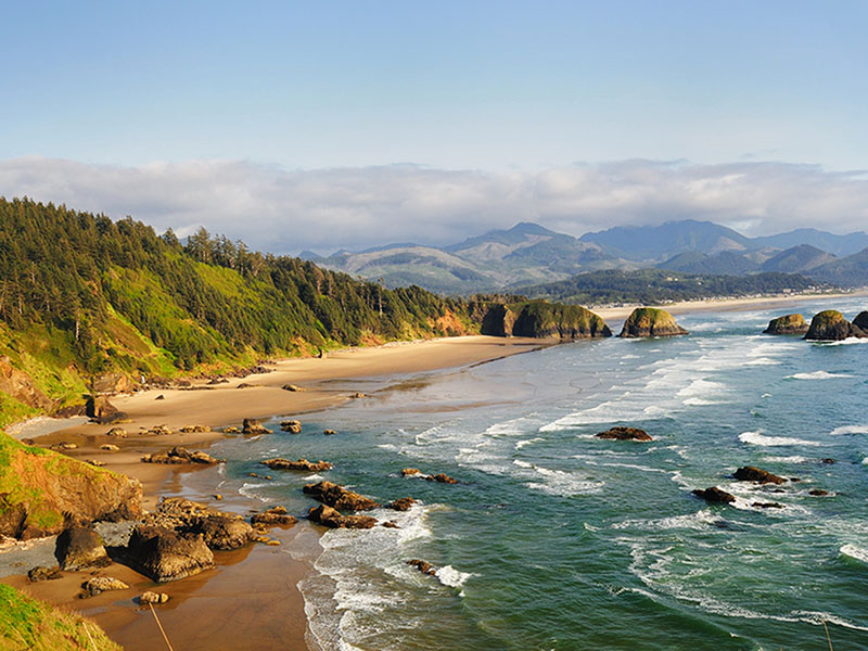 Ecola State Park Overlook, Cannon Beach