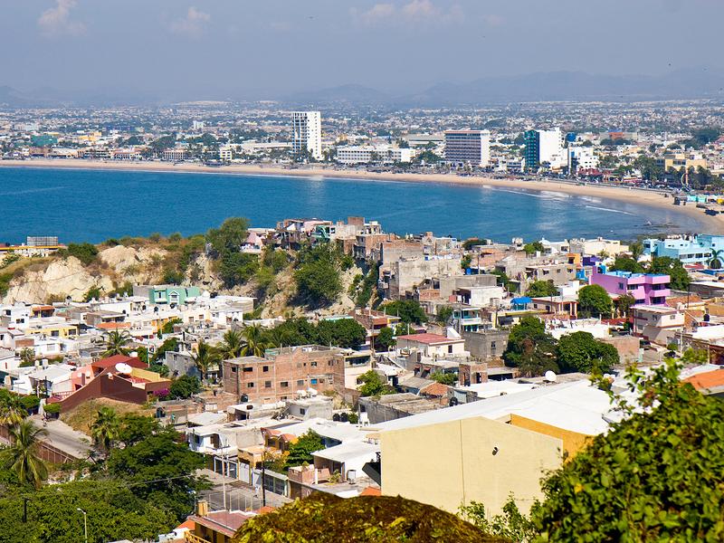 View over Mazatlan, Mexico