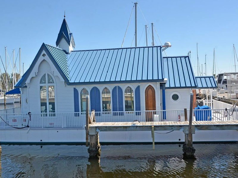 Historic Houseboat on Manatee River, Palmetto