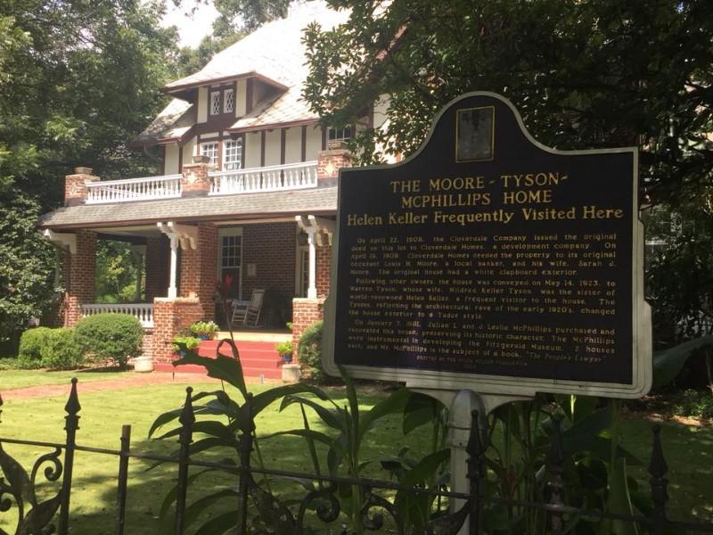 Helen Keller's Birthplace-Ivy Green