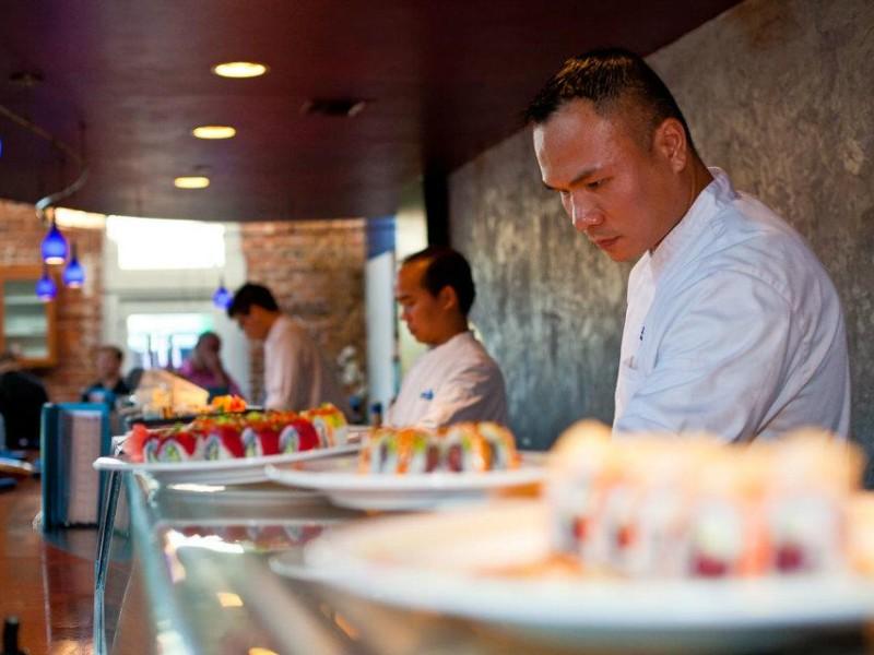 Samurai Blue Sushi & Sake Bar