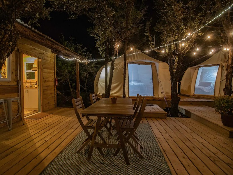 THE GLAMP by SkyBox Cabins