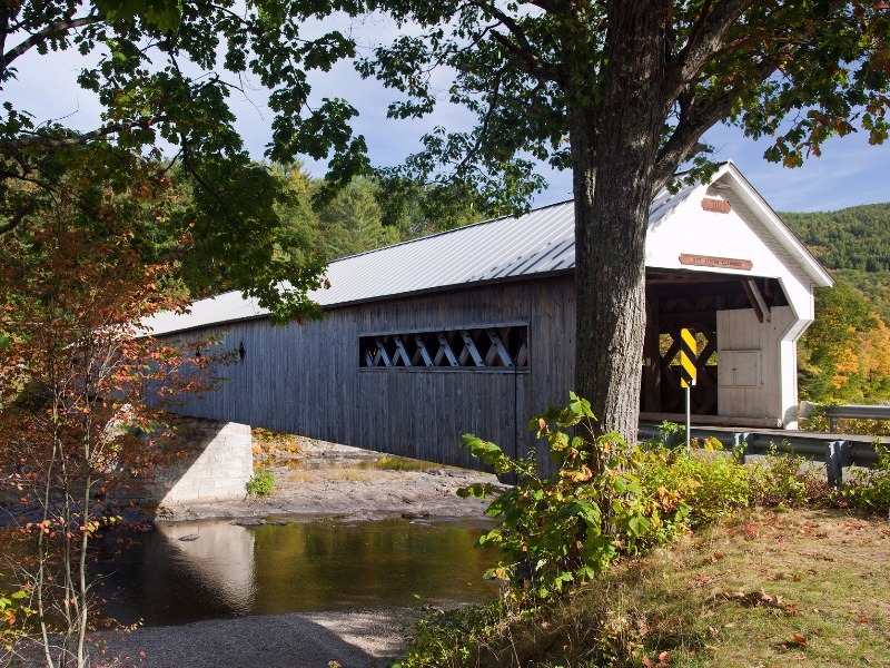 Covered bridge near Brattleboro