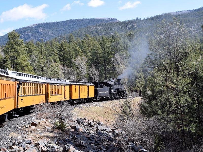 Durango-Silverton train, Durango