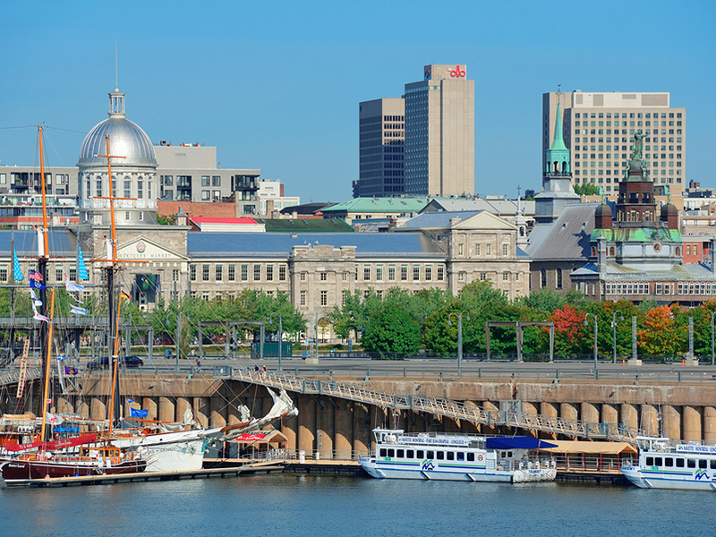 Montreal's Old Port, Quebec