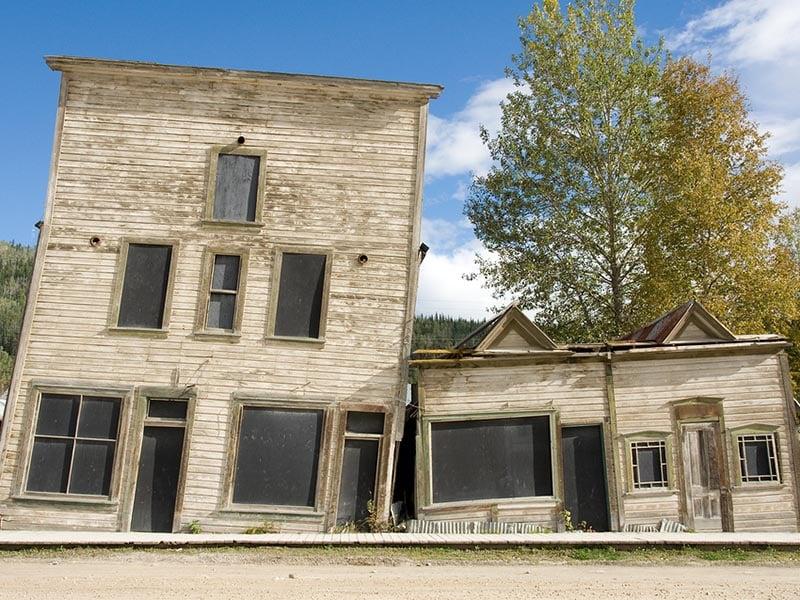 Heritage Buildings in Dawson City