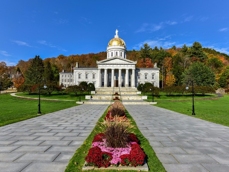 Exterior of the Vermont State House,  Montpelier
