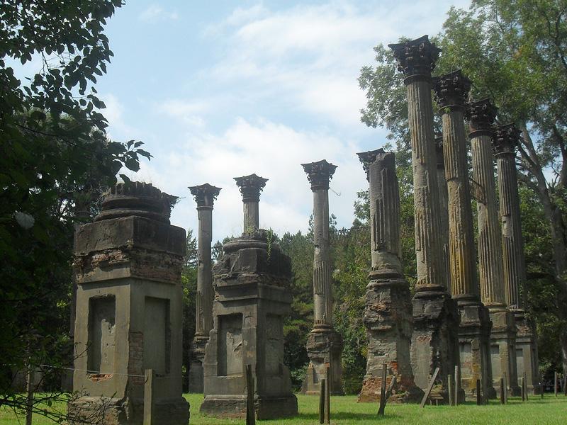 Columns at Windsor Ruins