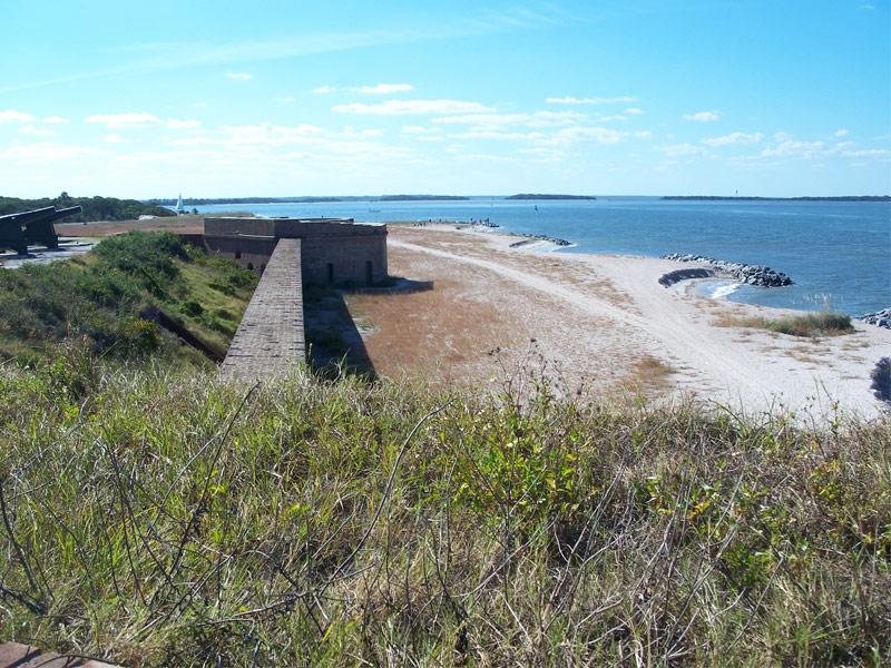 Fort Clinch at Fernandina Beach, Amelia Island