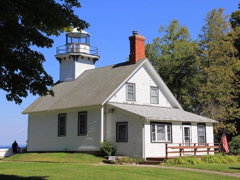 Old Mission Lighthouse near Traverse City