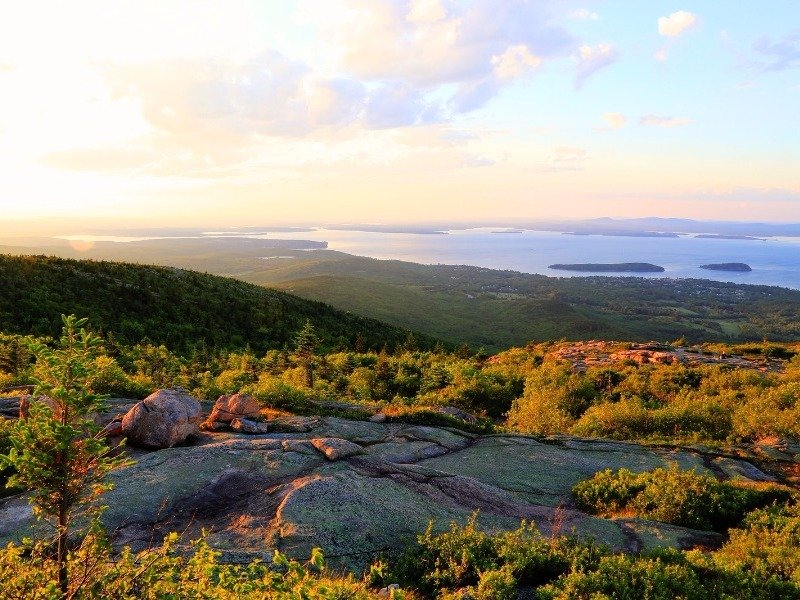 Acadia National Park, Maine in the fall