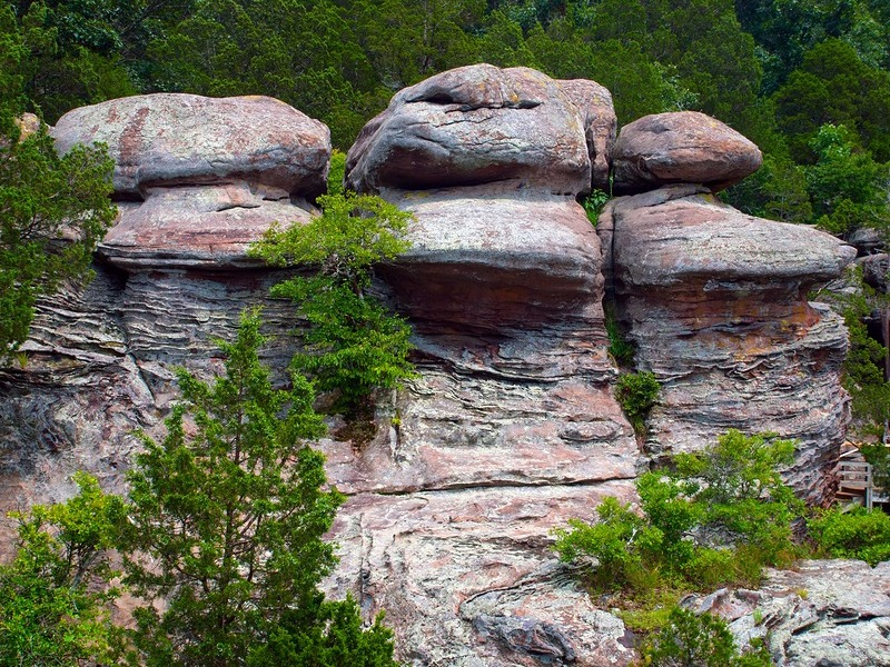 Rocks at Shawnee National Forest